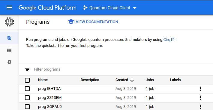 Quantum Cloud Conceptual Diagram